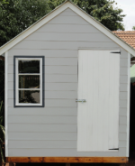 Nutec Cement Fibre Board (All Weather) Double Cladded Wendy House