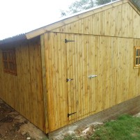 Customized Wendy House on Concrete Slab
