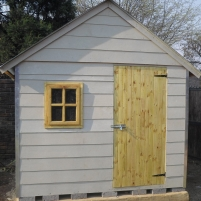 All Weather (Nutec Cement Fibre) Double Cladded Wendy House