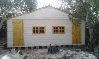 Customized All Weather (Nutec Cement Fibre) Double Cladded Wendy House