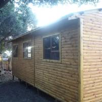 3 Bedroom Log Home on Stilts