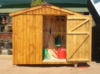 Town House Tool Shed