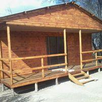 2 Bedroom Log Profile Unit with Veranda on Stilts