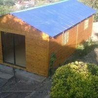Log Dance Studio front top view