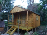 Wendy and Veranda with Sliding Door on Stilted Base