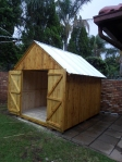 Smaller Tool Shed with Double Door