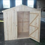 Raw Open Door Town House Tool Shed