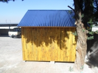 Standard Tongue and Groove Smooth Plained Pine Tool Shed Side View