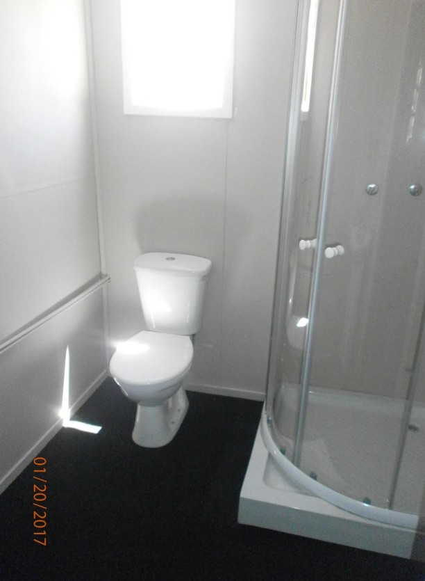 Bathroom - Toilet Installed