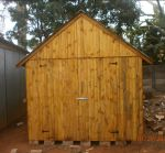 Standard Tongue and Groove Tool Shed