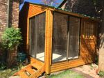 Log Unit Both Sliding Doors Outside